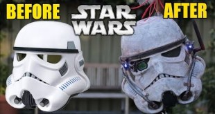 The Black Series Stormtrooper Helmet Makeover- Chris' Custom Collectables!