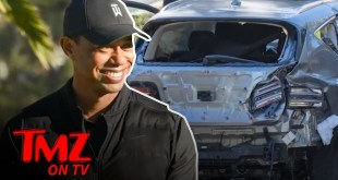 Tiger Woods Home from Hospital After Car Crash | TMZ TV