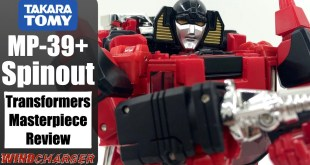 Transformers Masterpiece Review: Takara Tomy MP-39+ Spinout