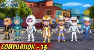 VIR: The Robot Boy Cartoon In Hindi | Compilation 13 | Hindi Cartoons for Kids | Wow Kidz Action