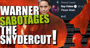 Why Is Warner SABOTAGING The DCEU Snyder Cut ?! | Fatal Jay Ray Fisher Zack Snyder DCEU News