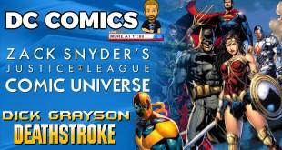 Zack Snyder DCEU Comic Universe, Dick Grayson DEATHSTROKE?