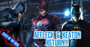 Ben Affleck Back as Batman in The Flash!!! - STATE OF THE DCEU
