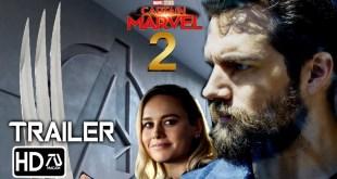 "Captain Marvel 2 (2023) Trailer #2 ""Wolverine"" - Brie Larson, Henry Cavill (Fan Made) MCU Movie"