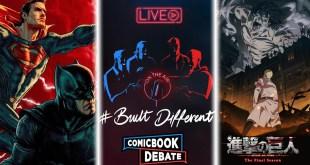 Discussing DCEU Updates at CCXP | Attack on Titan S4 Premiere | #BuiltDifferent Stream