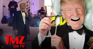 Donald Trump Acts Like Belligerent Wedding Guest At Mar-A-Lago | TMZ TV