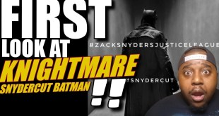FIRST LOOK! Zack Snyder UNLEASH Knightmare Batman Image From Snyder Cut ! | Dceu Batfleck Fatal Jay