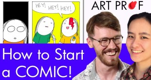 How To Start Creating a Comic