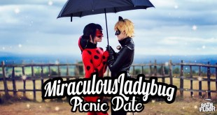 Miraculous Ladybug and Chat Noir Cosplay Music Video - The Picnic Date