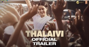 Thalaivi | Official Trailer (Hindi) | Kangana Ranaut | Arvind Swamy | Vijay | 23rd April