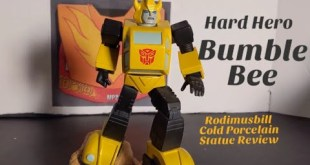 Transformers Hard Hero BUMBLEBEE Cold Porcelain Statue Review *Limited Edition Artist Proof*