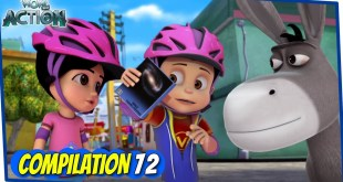 Vir The Robot Boy | Animated Series For Kids | Compilation 72 | WowKidz Action