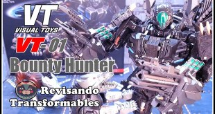 Visual Toys VT-01 Bounty Hunter KO Transformers UT R-01 Peru Kill AOE Lockdown