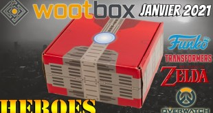 Wootbox Janvier 2021: HEROES Transformers Zelda Overwatch Funko Pop Call of Duty Unboxing Test