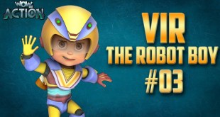 Vir: The Robot Boy | Hindi Cartoon Compilation For Kids | Compilation 03 | WowKidz Action