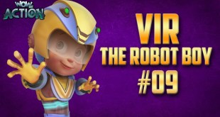 Vir: The Robot Boy | Hindi Cartoon Compilation For Kids | Compilation 09 | WowKidz Action