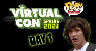 Funko Virtual Con Spring 2021 Exclusive Pop Reveals - Day 1 (ECCC)