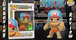 ECCC 2021 One Piece Buffed Chopper Funko Pop Unboxing & Review!
