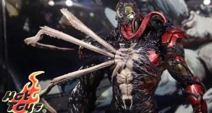 "[First Look!] Hot Toys ""Marvel's Spider-Man: Maximum Venom""  Venomized Iron Man"