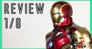 Hot Toys Iron Man Mark 46 XLVI Concept Art 🎨 version 1/6 review MMS489 D25 & Civil war comparison