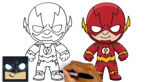 How To Draw The Flash | Justice League
