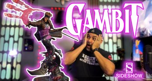 Is this the BEST Gambit Statue? Gambit Maquette Unboxing by Sideshow