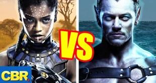 MCU Phase 4: The War Between Wakanda and Atlantis