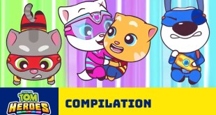 Mad and Mysterious Adventures of Talking Tom Heroes (Cartoon Compilation)