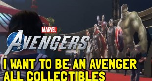 Marvel's Avengers All Collectibles In I Want To Be An Avenger