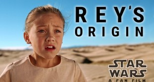 Star Wars Rey Origin Story a fan film 8 mins Video