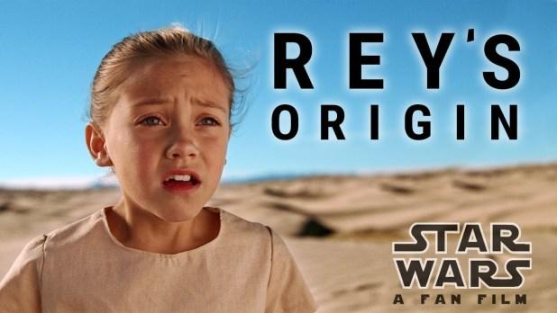 Star Wars Rey Origin Story a fan film