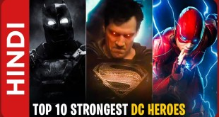 Top 10 Strongest Superheroes In DC Extended Universe In Hindi (DCEU)
