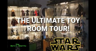 Ultimate Toy Room Tour! 1/6 scale Star Wars Hot Toys Sideshow etc. WOW!
