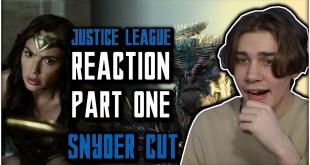 ZACK SNYDER'S JUSTICE LEAGUE - REACTION! (Part 1 of 4) | DCEU