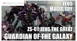Zeus Toys BMB ZS-01 ZEUS The Great Oversize Transformers Studio Series SHOCKWAVE Review