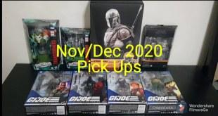 Action Figure Pick Ups Nov/Dec 2020 Hot Toys Mandalorian Transformers GI Joe MOTUC Snake Mountain