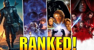 All Star Wars Movies and TV Shows RANKED from Worst to Best!
