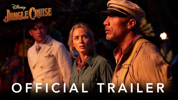 Jungle Cruise  Official Movie Trailer 2 w / Dwayne Johnson and Emily Blunt
