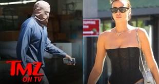 Kanye West Wears Ski-Mask Style Headwear in Heatwave, Irina Shayk Wears Less | TMZ TV