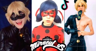 Miraculous Ladybug and Chat Noir TikToks Cosplay TikTok #4