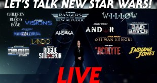 SEVEN New Star Wars Projects Announced - LIVE Discussion!