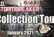 Toys and Collectibles Displayed Collection Tour January 2021 Hot Toys Sideshow Transformers Neca