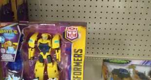 Transformers Toys stocked at my local Target