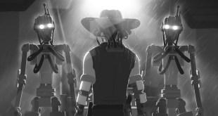 """Friendly Shadow"" | Dystopian Animated Short Film (2020)"