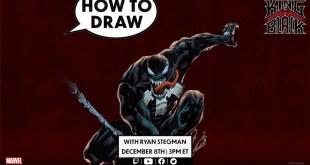 How to Draw VENOM w/ Ryan Stegman! | Marvel Comics