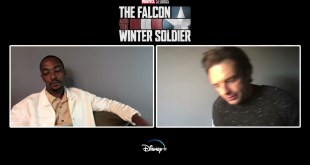Marvel Falcon and the Winter Soldier - Celebrity Interview w/ Sebastian Stan  & Anthony Mackie