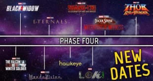 Marvel MCU Phase Four: New Avengers Release Dates and Movies