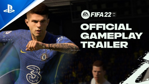 FIFA 22 Official Gameplay Trailer PS5, PS4 Watch Now
