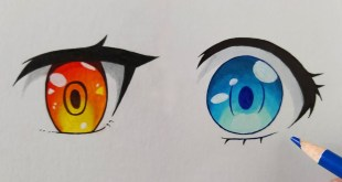 2 Easy Ways to Draw Anime Eyes | Step by Step Tutorial for Beginners