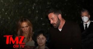 Ben Affleck & Jennifer Lopez Grab Dinner at Craig's with Her Daughter | TMZ TV